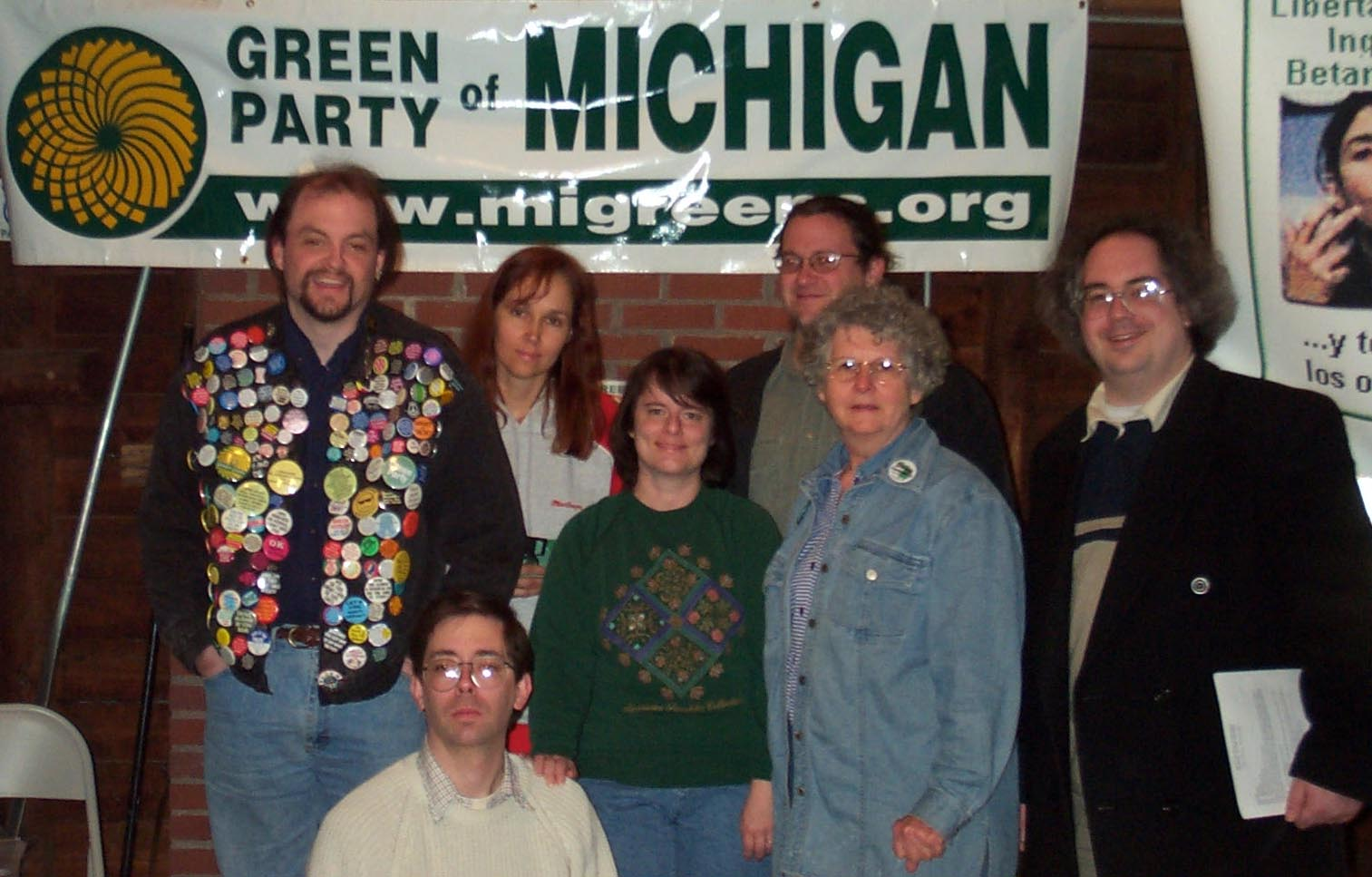 photo of GPMI officers elected in May, 2002